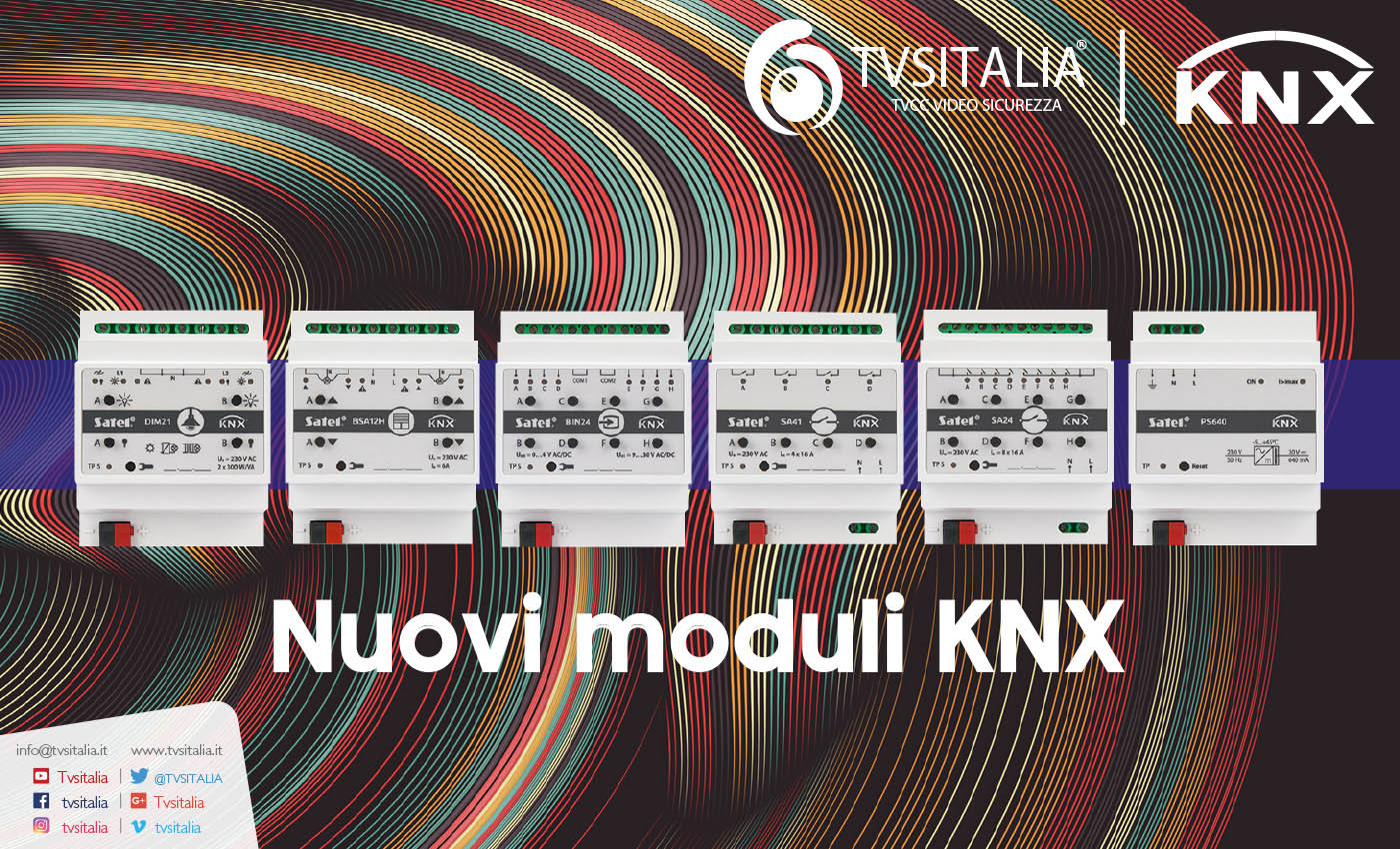 Moduli KNX Satel